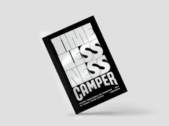 CAMPER 台灣青年創作展覽手冊設計