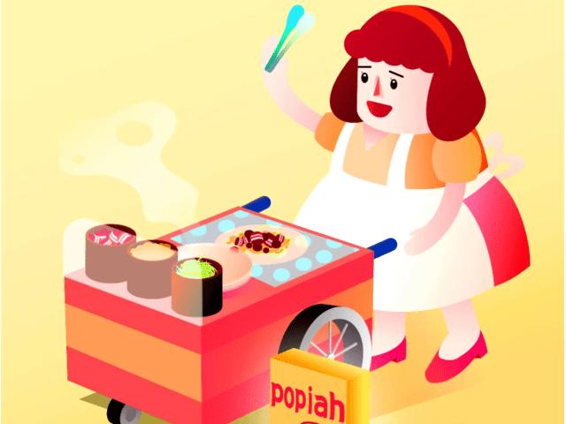 dining cars 系列插畫
