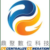 鼎聚數位科技股份有限公司 logo