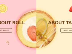 為R&T甜點工作室製作一個品牌形象網站