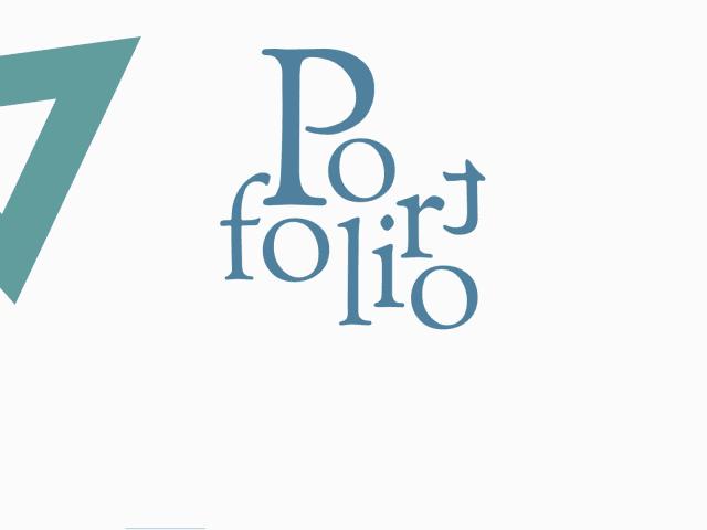 E-Portfolio網站
