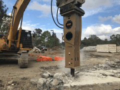 Tecna Hydraulic Hammers Breakers