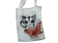 手繪帆布包 / bag drawing