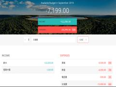 Budgety收支紀錄App