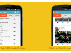 Sing-N-Share application