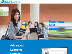 【網頁前端】IELTS教育網站行銷