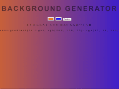 Background-Generator