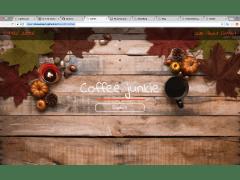 Bootstrap4 - 單頁式咖啡網站