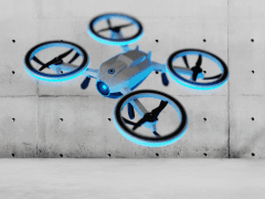 rendered a drone with Keyshot 3D