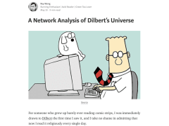 A Network Analysis of Dilbert's Universe