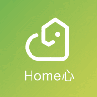 Home心 logo