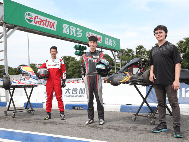 Young Engineer who Reform Electric Go-Kart