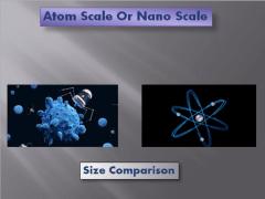 Atom & Nano Scale Comparison | Stuart Burchill