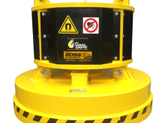 Hydraulic Magnet for Excavator - Boss Attachments