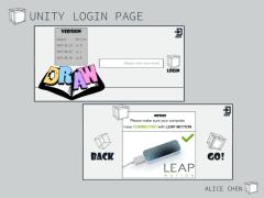 Unity登入介面設計_畢業專案