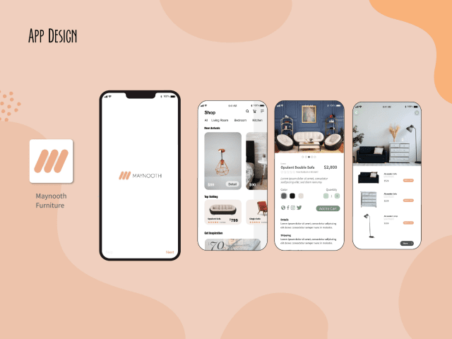 UI DESIGN | Maynooth Furniture