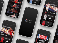 【UI Design】NBA Jersey Store