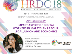 Speaker at the HRDC Conference 2018