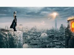 Photoshop合成作品-Ruin city