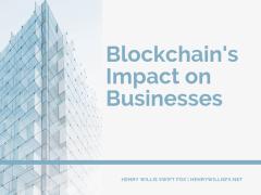 Blockchain's Impact on Businesses