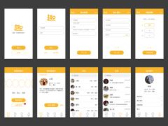 趣聊 App Design