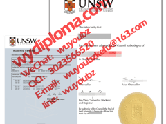 Diploma of the university of new south wales Austr