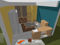 舊有房間模擬圖