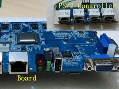 VGA and PS/2 remote controller