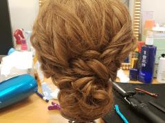 Hair style practice