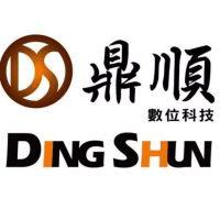 鼎順數位科技有限公司 logo