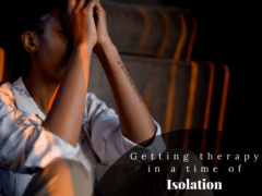 Getting therapy during isolation