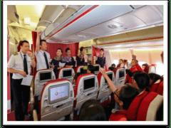 「飛上雲霄」學生航空體驗計劃