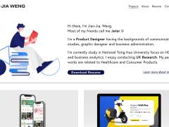 UI/UX Portfolio Website