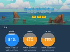 台灣水庫即時水情 2.0 網頁APP版