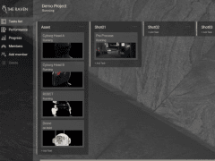THE RAVEN - project management system