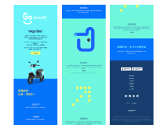 [HTML/CSS] GoShare切版練習