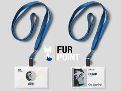 《FurPoint》展覽 識別證設計