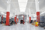Tesla work environment photo