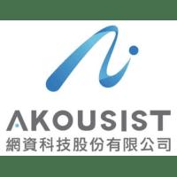 Akousist 網資科技股份有限公司 logo