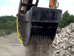 Concrete Crusher Buckets for Sale
