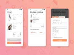 UI DESIGN | Check out page