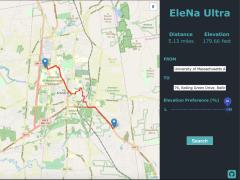 Elevation Based Navigation (EleNa)