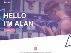 Alan's CV - UI/UX 設計