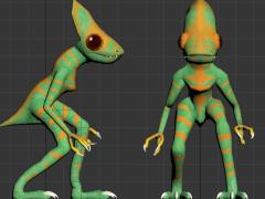 Evolution lizard