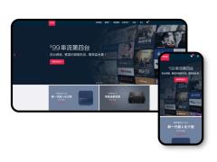 UI design - OVO TV official website