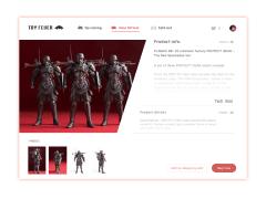 UI 設計練習 - 電商購物平台介面