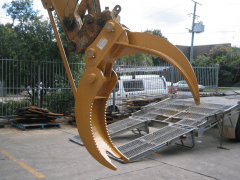 Hire Excavator Grab - Boss Attachments