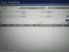 Call type tracking