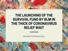 The Launching of the Survival Fund by BLM