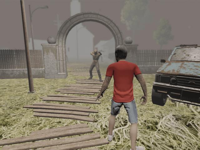 殺殭屍射擊遊戲Demo